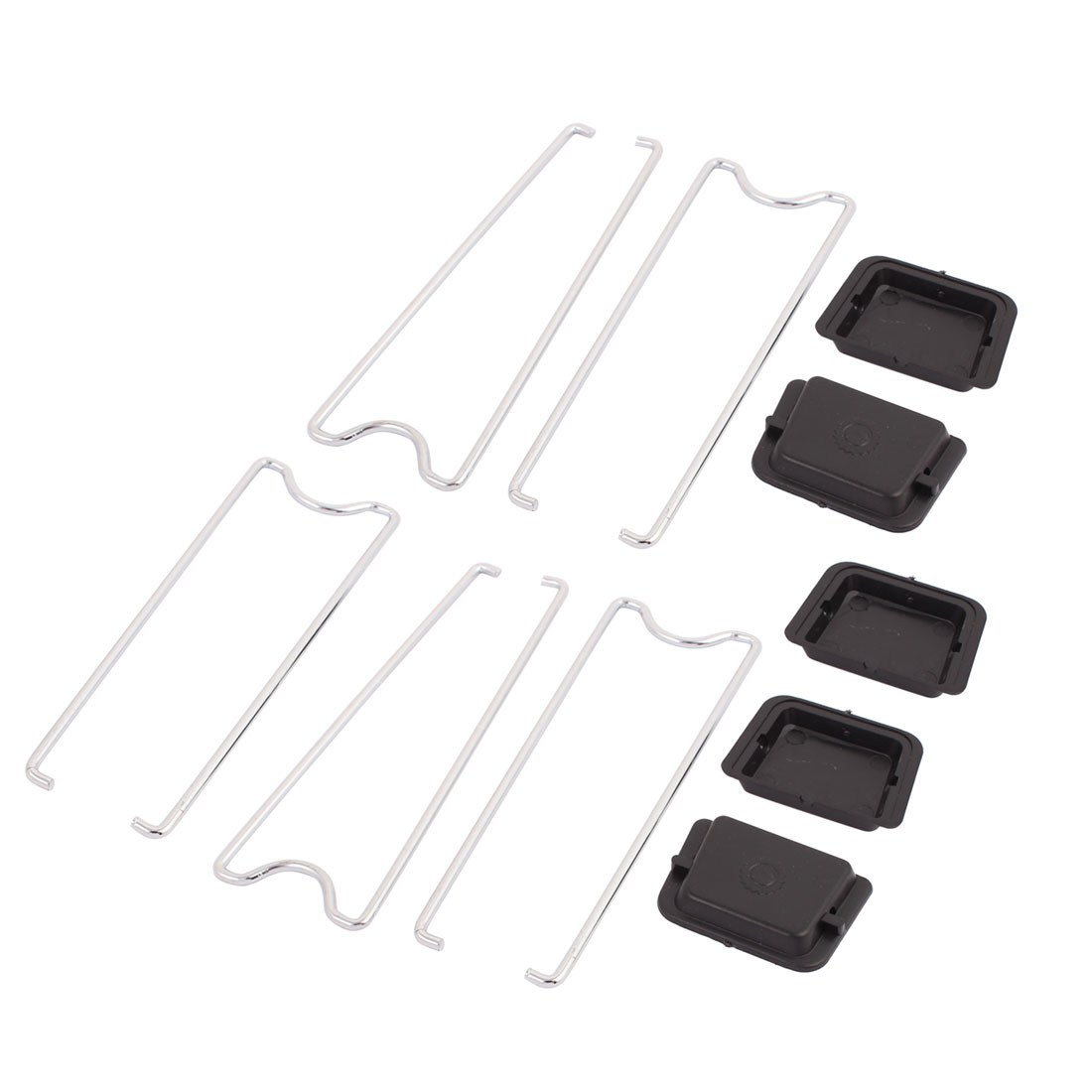 5Pcs Solar Cell Panels Parts Iron Plated Metal Stand Absorb Solar Junction Box