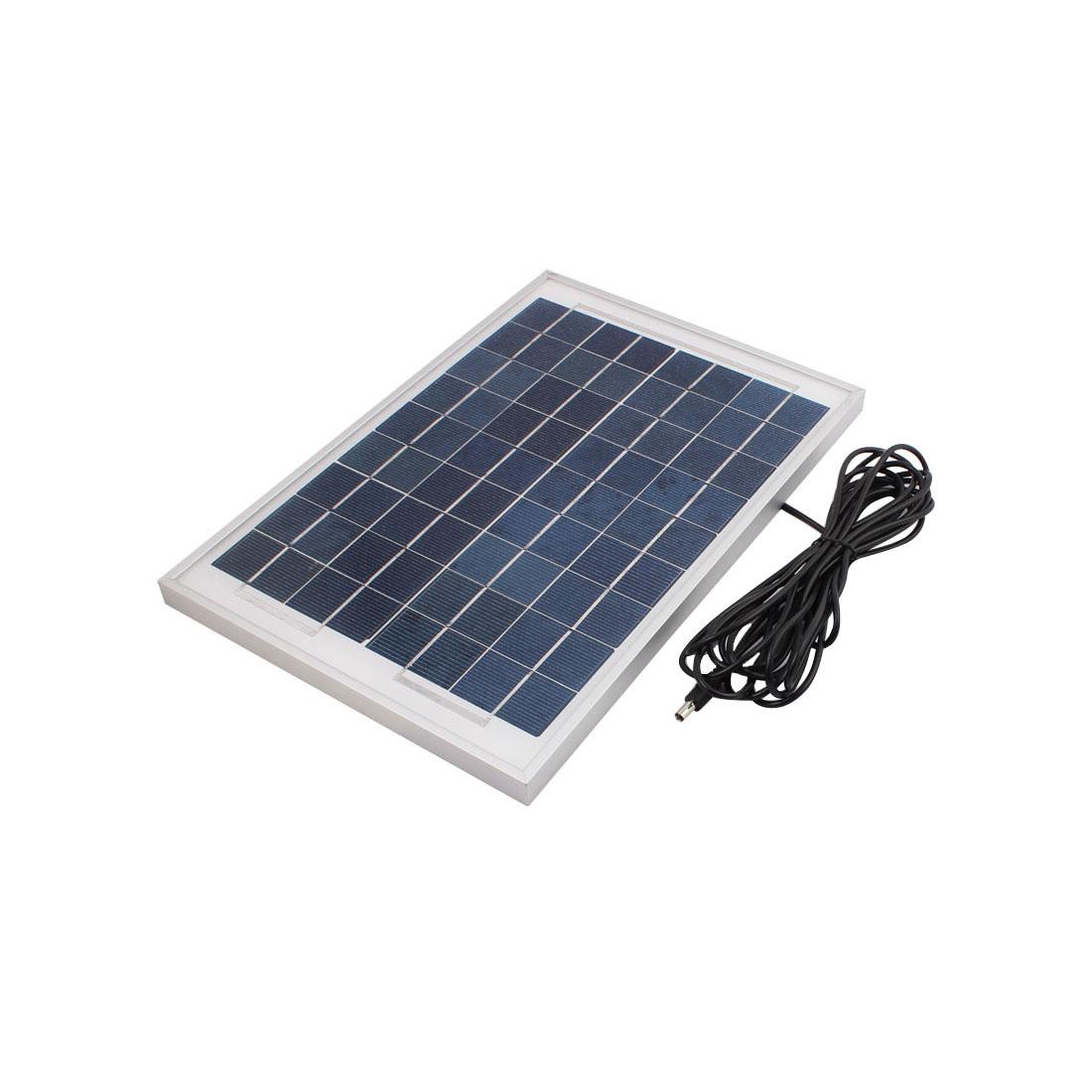 345mmx235mmx17mm 10 Watts 12 Volts Monocrystalline Solar Panel