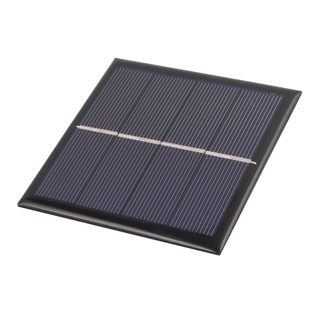 90mmx90mm 1 Watt 2 Volts Polycrystalline Solar Panel for 1.5V AA Battery