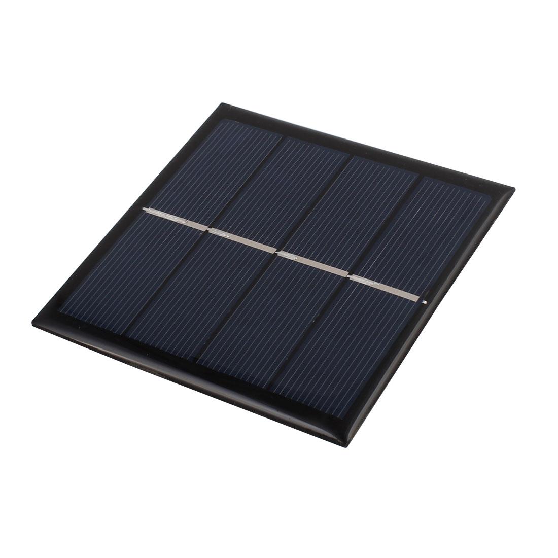 90mmx90mm 1 Watt 2 Volts Polycrystalline Solar Panel for 1.5V AAA Battery