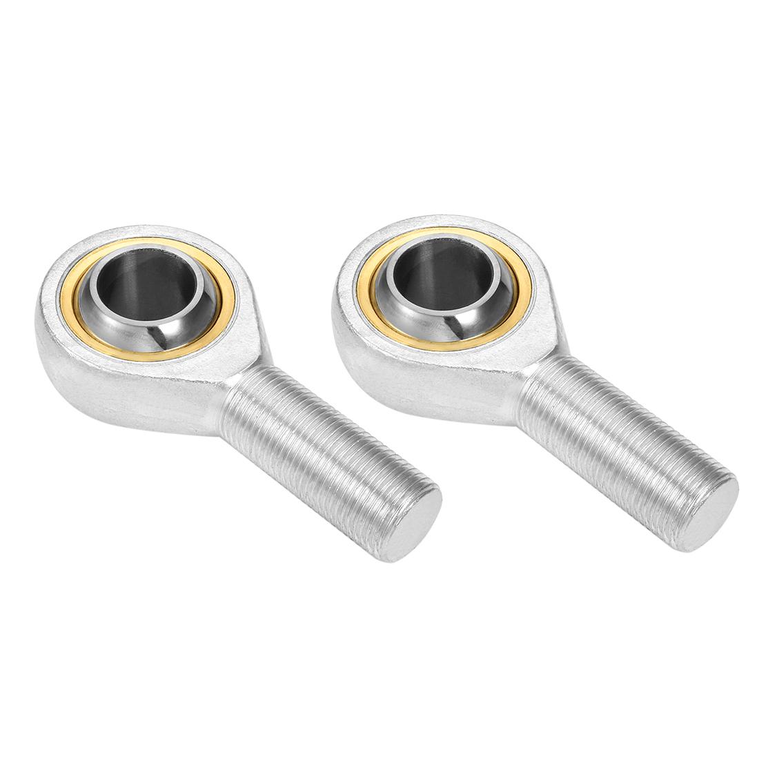SA5T/K 5mm Bore Self Lubricating Male Right Hand Rod End Ball Bearing 2pcs