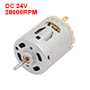 R365S DC24V Mini Electric Motor High Speed 28000RPM for RC Model