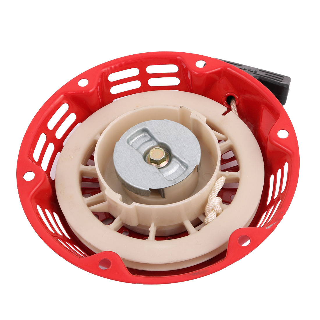 Pull Recoil Round Plate Generator Engine Accessories w Handle 160F/170F