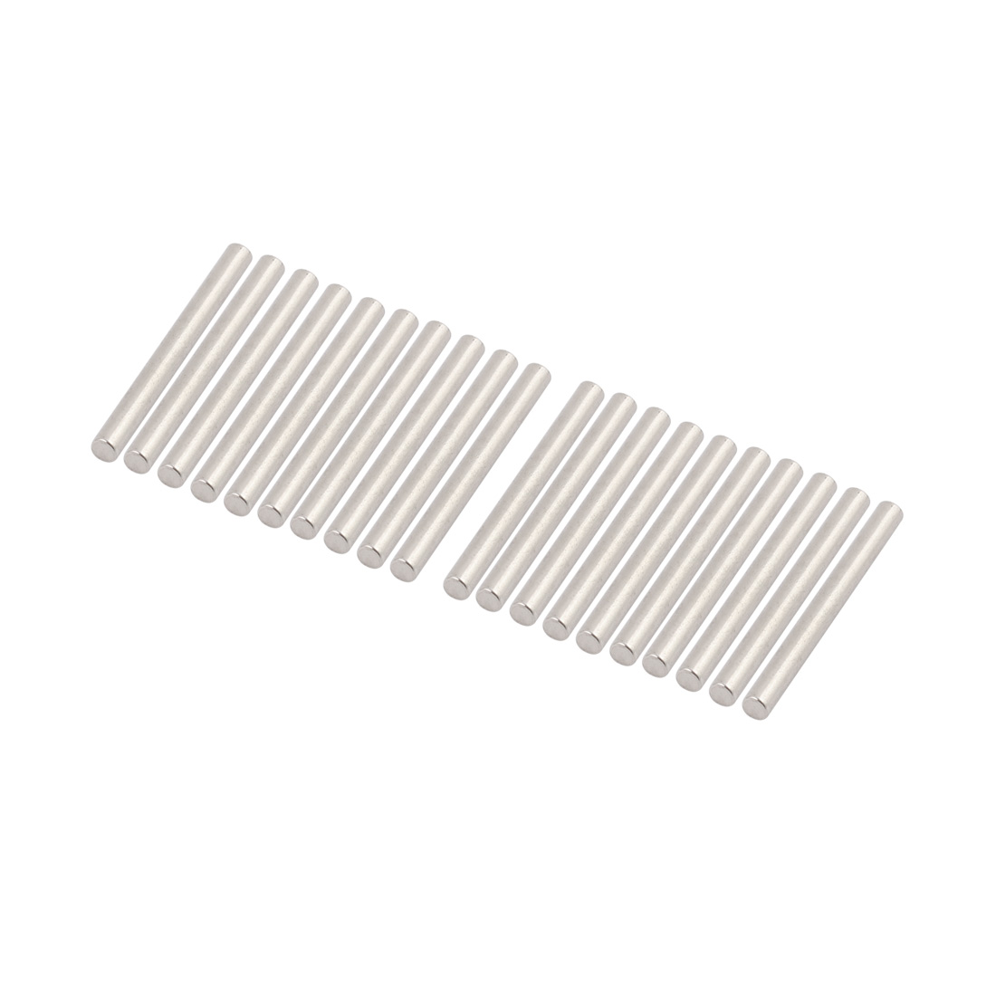 20Pcs Round Shaft Rods Axles 304 Stainless Steel 3mm x 30mm for RC Car