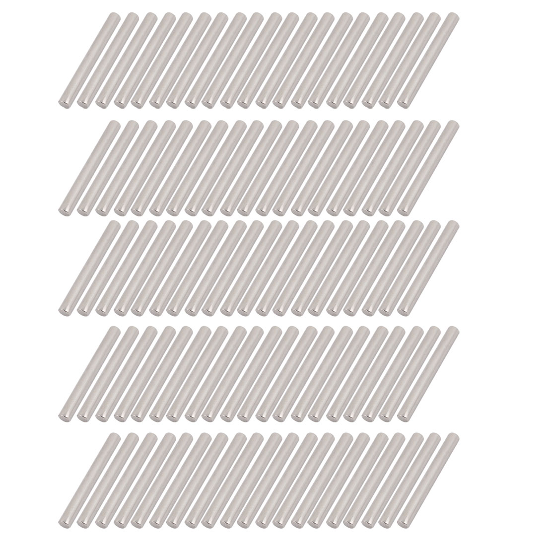 100Pcs Round Shaft Rods Axles Metal 3mm x 30mm for RC Car