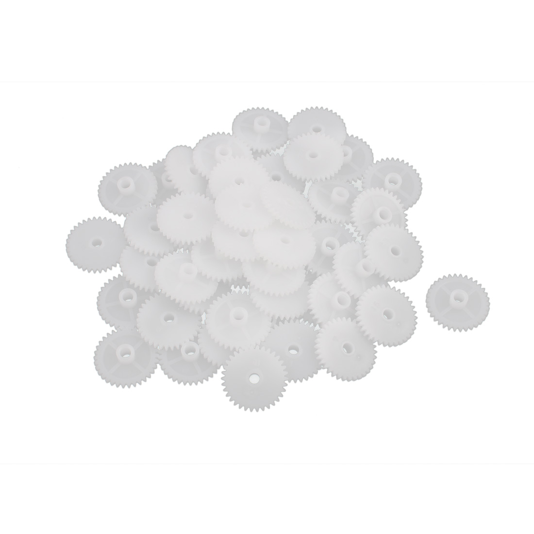 50PCS 34 Teeth 3mm Hole Diameter Plastic Gear Wheel for RC Toy Car