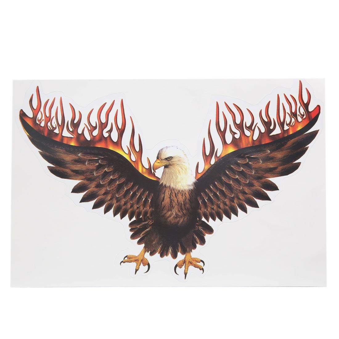 Eagle Pattern Self Adhesive Auto Car Decorative Stickers Exterior Decors