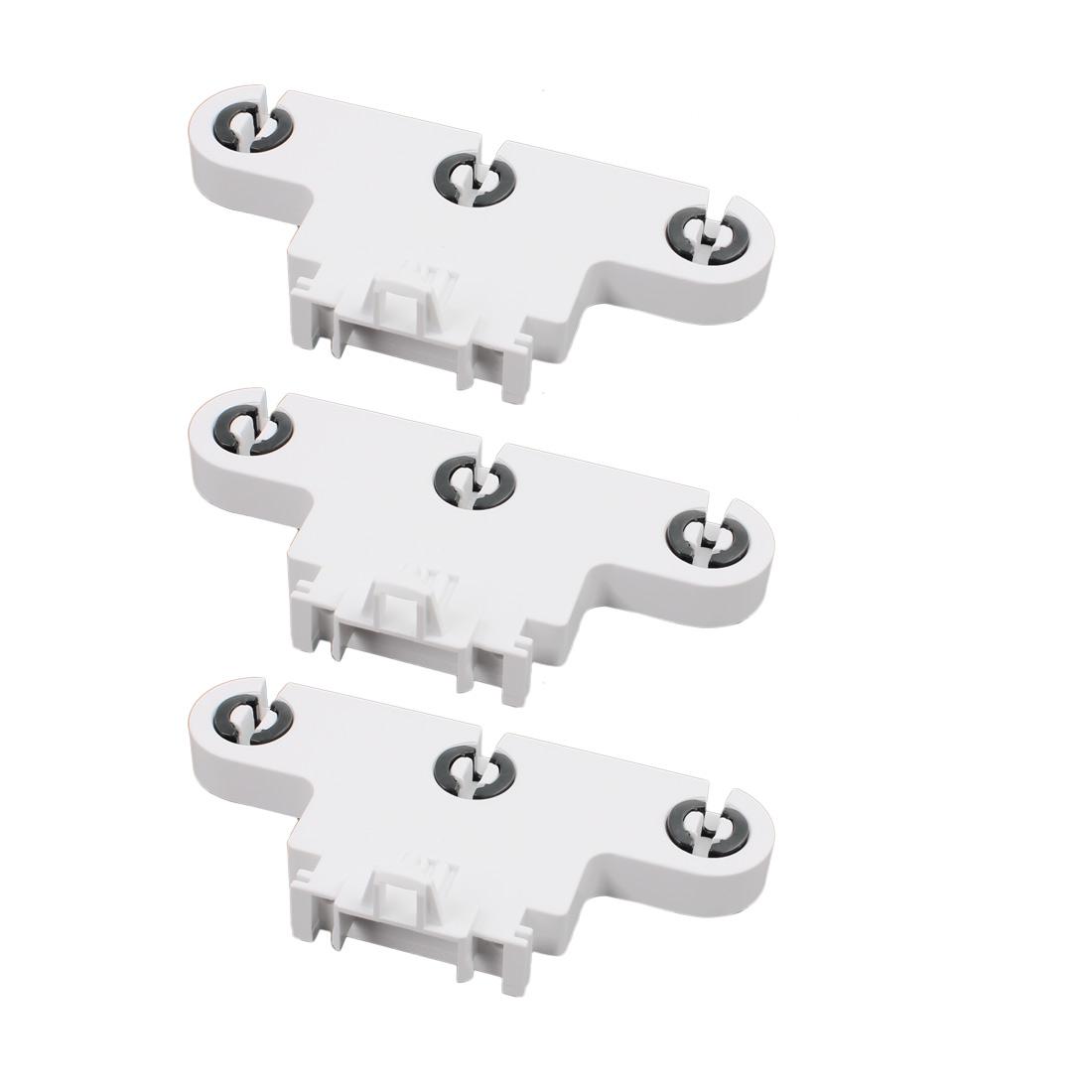 3Pcs AC500V 2A G13-F263W T8 Triple Light Socket G13 Base Fluorescent Lamp Holder