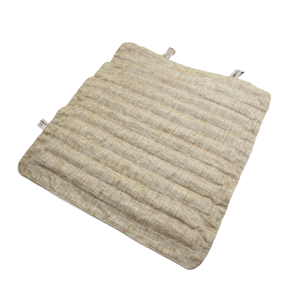 Oxford Cloth Bamboo Charcoal Filled Car Home Seat Cushion Cover Pad Mat Beige