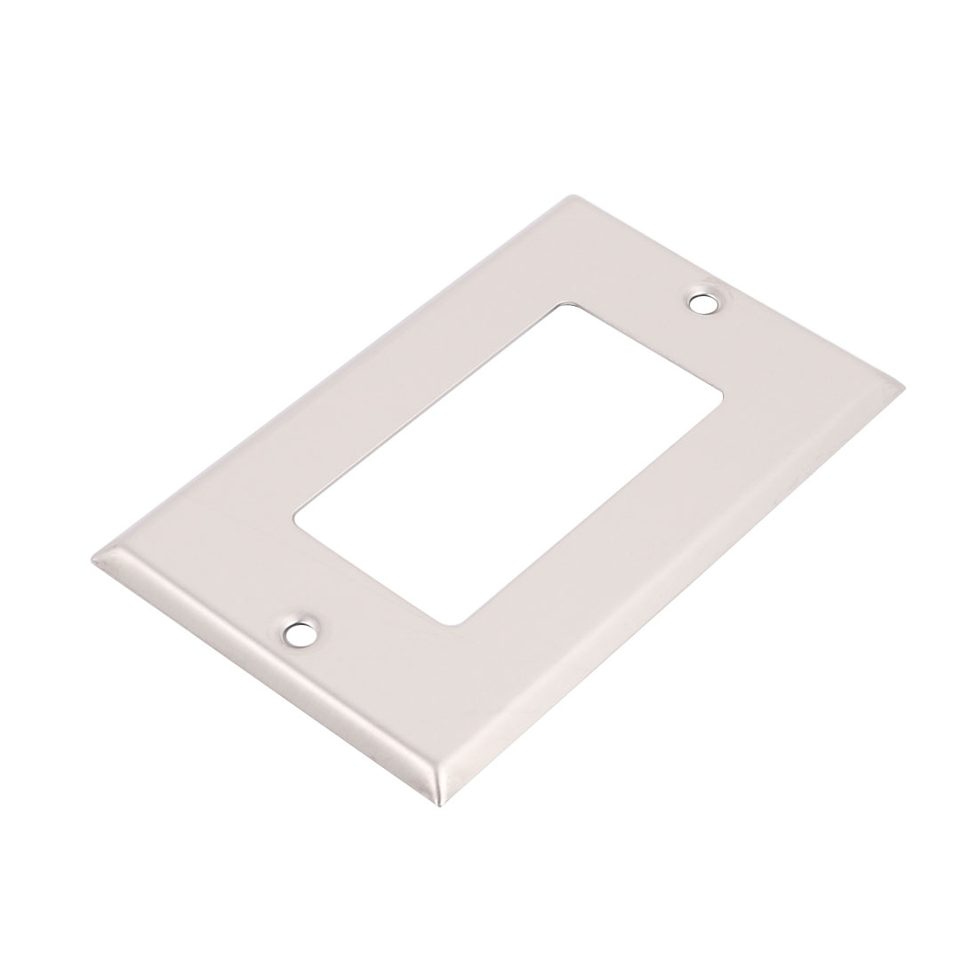 1-Gang Decorator GFCI Device Wallplate 304 Stainless Steel UL Listed Blue