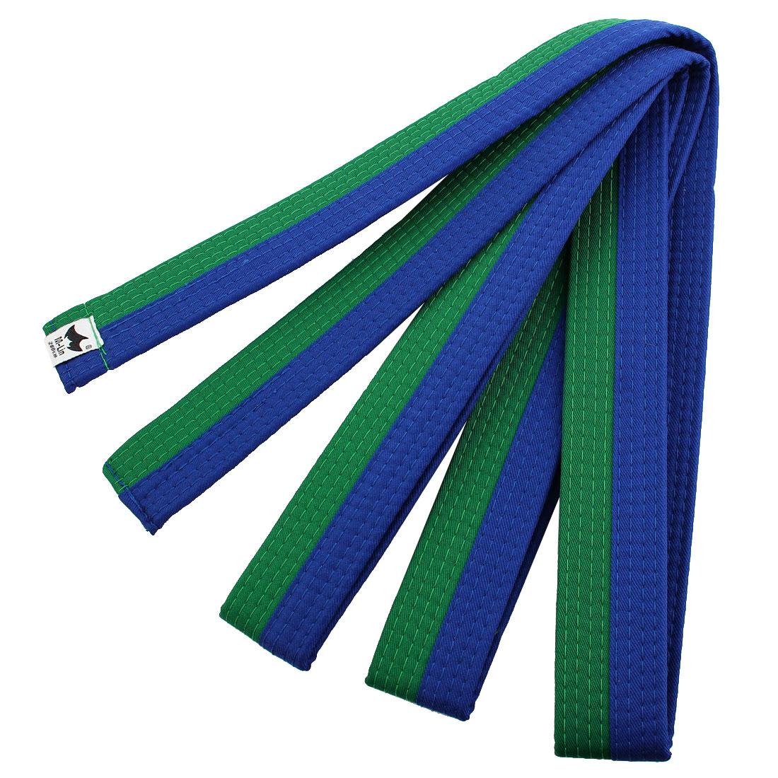 Sporty Rank Hapkido Taekwondo Belt Judo Karate Band Green Blue