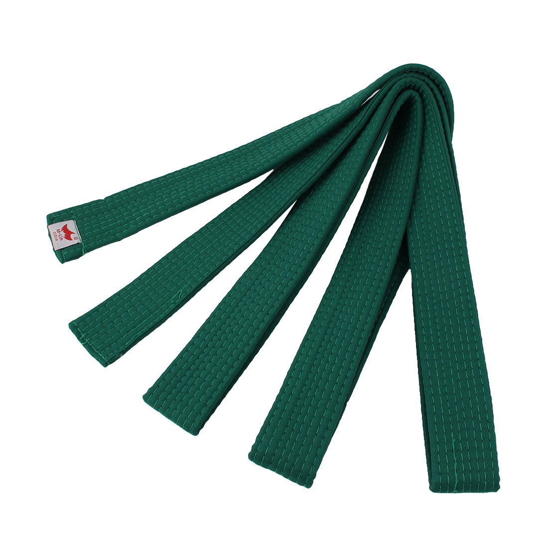 Judo Taekwondo Cotton Blend Band Belt Green 250cm Length