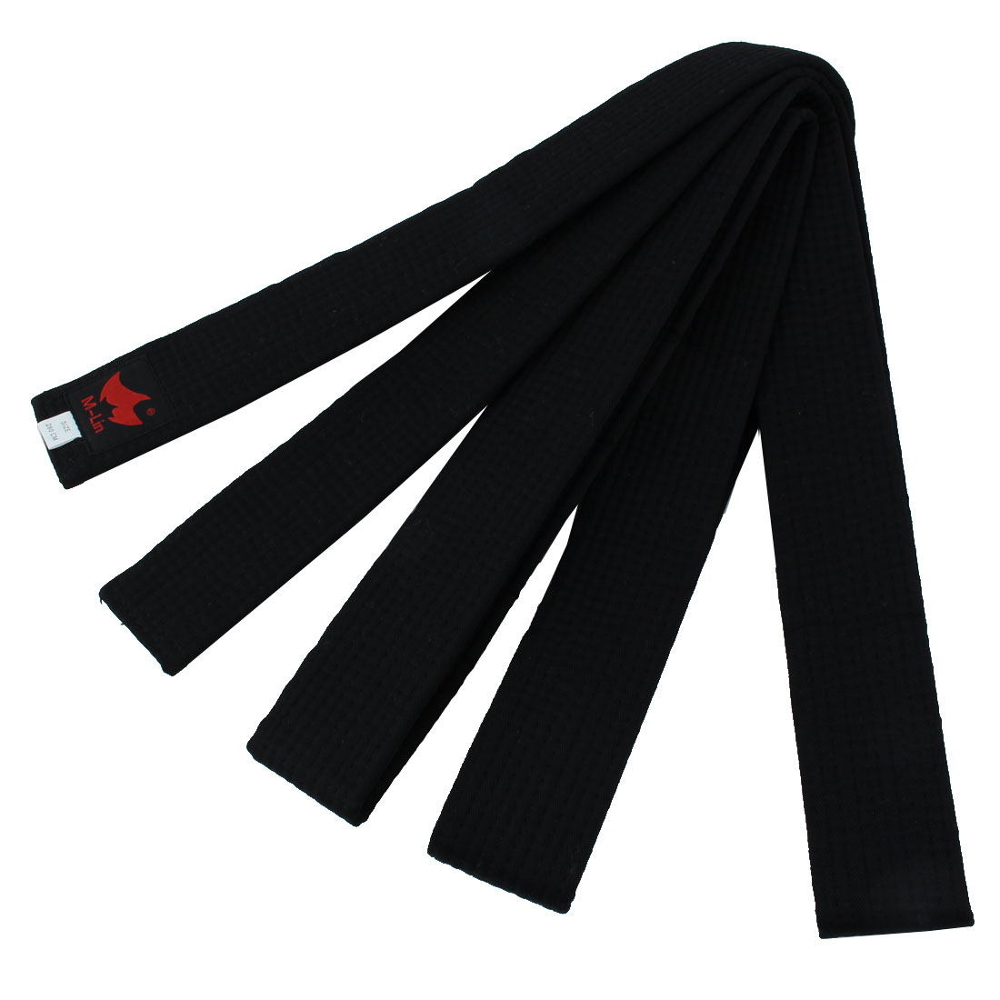 Judo Taekwondo Cotton Blend Uniform Belt Black 280cm Length