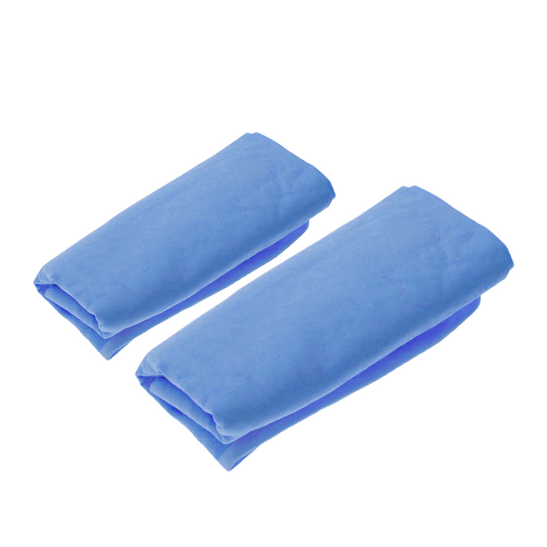 Blue Synthetic Chamois Auto Car Care Dry Washing Cloth Cleaning Cham Towel Set