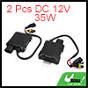 2 Pcs DC 12V 35W HID Xenon Headlight Digital Replacement Conversion Ballast for Car