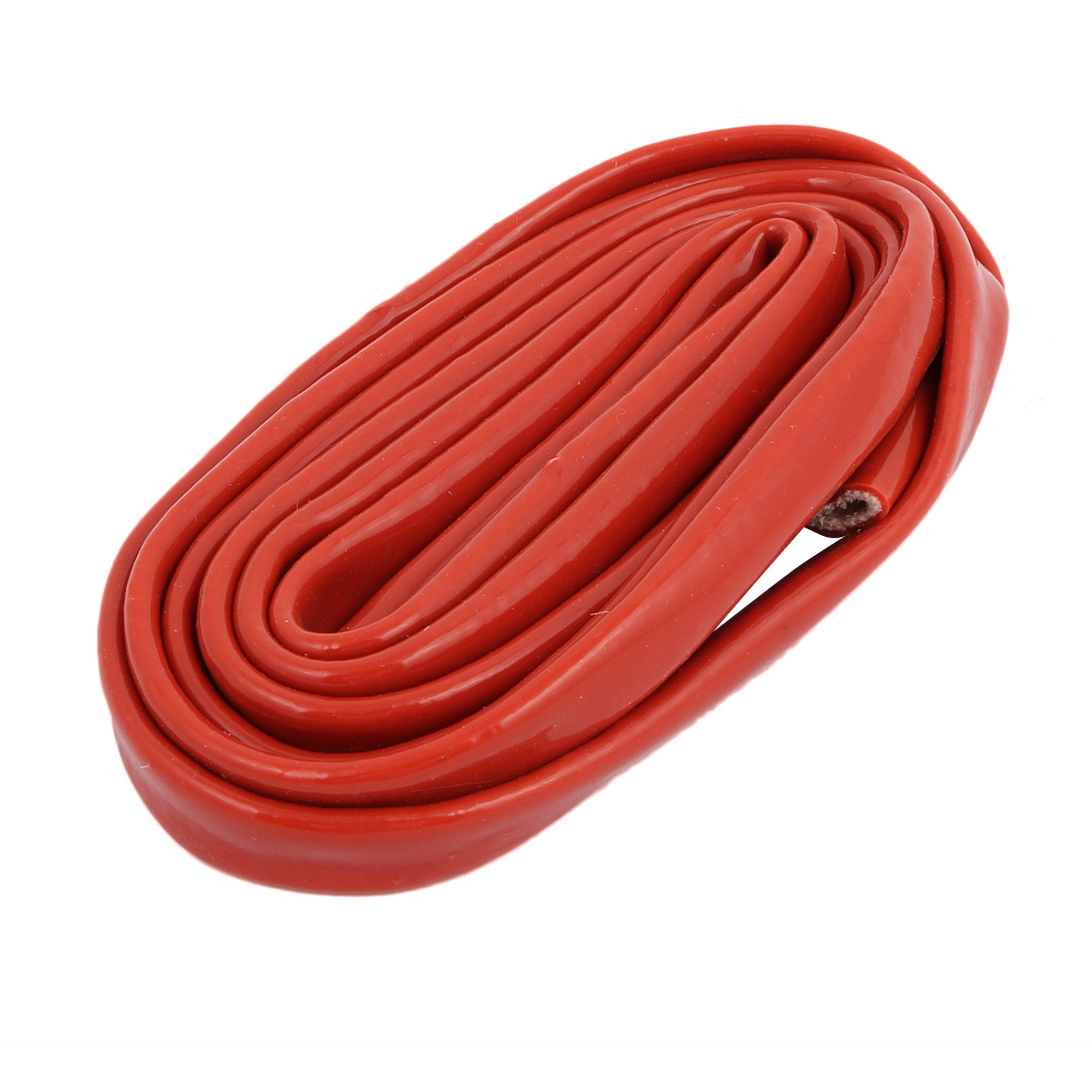 Fiberglass Thickened Retardant Self-extinguishing Sleeving 8mmx2M Red