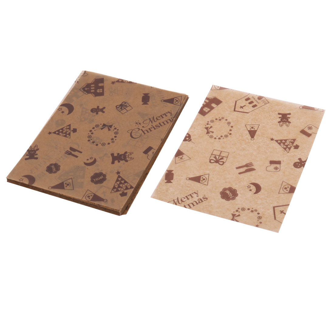 Home Hotel Cookies Sugar Chocolate Holder DIY Packaging Wrapping Paper 100 Pcs