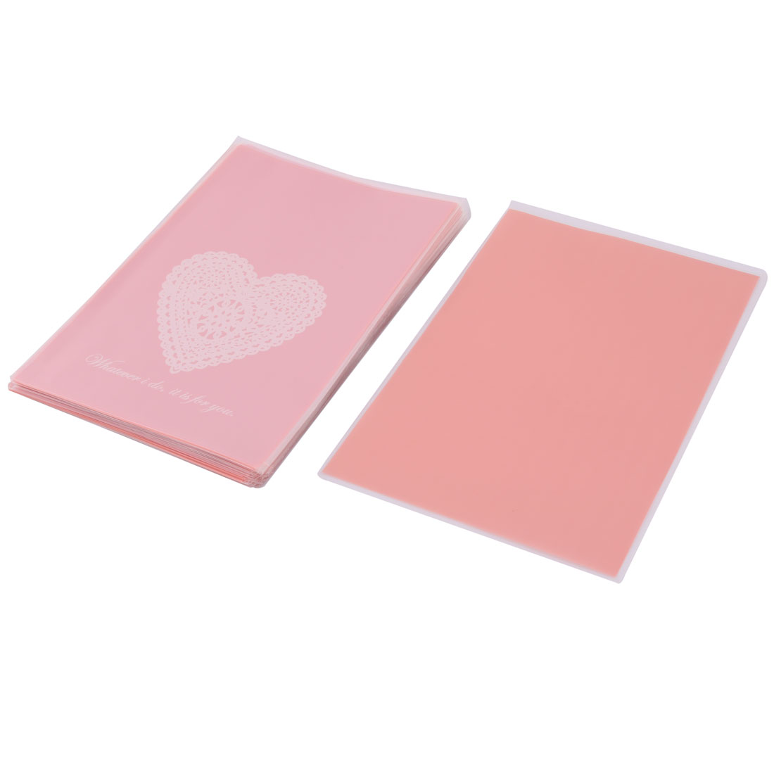Wedding Heart Pattern Candy Sugar Chocolate DIY Packaging Wrapping Paper 100pcs
