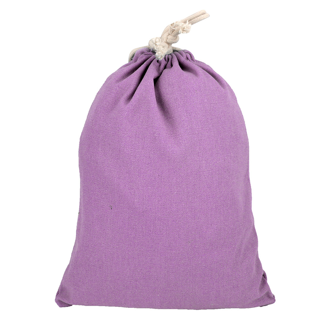 Travelling Canvas Drawstring String Pouch Storage Packing Gift Toe Bag Purple