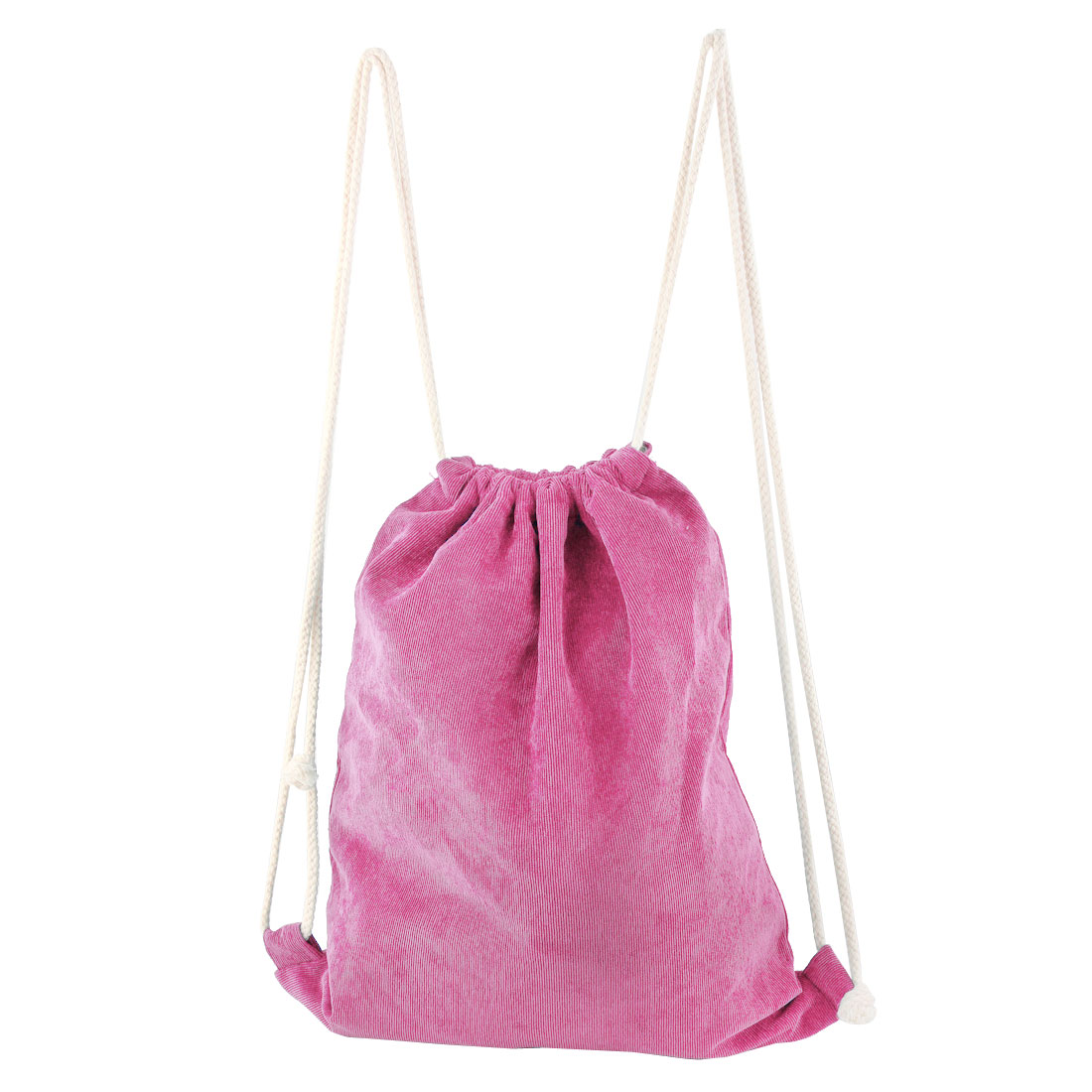 Picnic Travel Storage Pouch Tote Bag Draw Backpack Pink