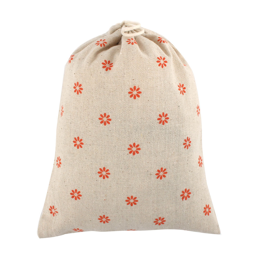 Travel Cotton Linen Sundries Storage Pouch Gift Package Drawstring Bag Medium