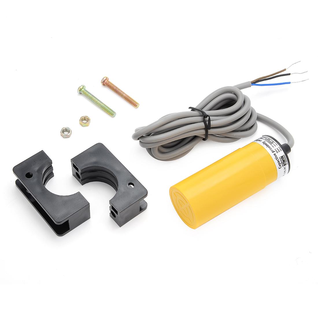 LJC34A4-K-Z/AX 1-30mm Capacitance Proximity Sensor Switch NPN NC DC 6-36V 300mA