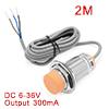 LJC30A3-H-Z/BX 1-25mm Capacitance Proximity Sensor Switch NPN NO DC 6-36V 300mA