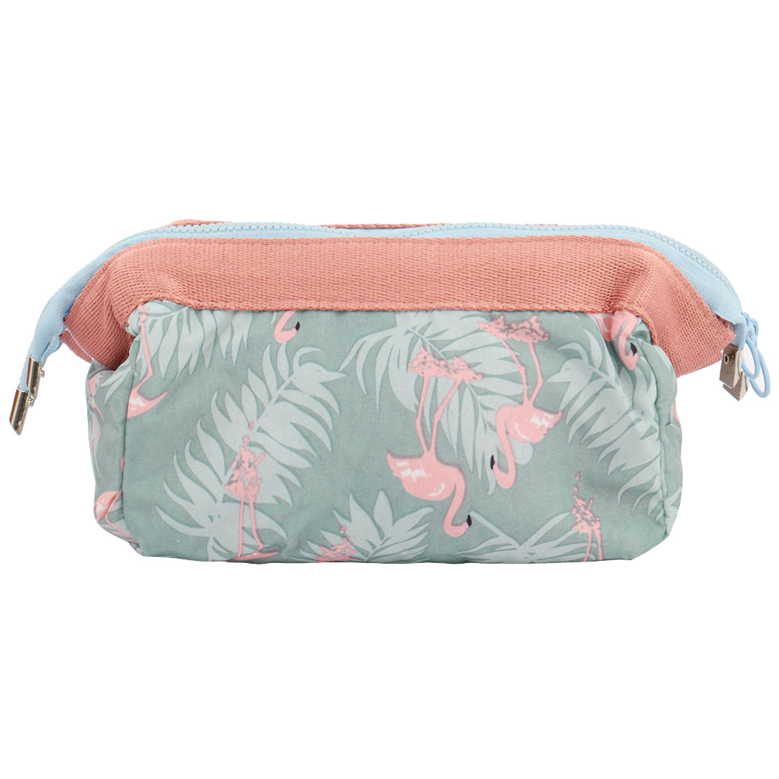 Travel Cosmetic Makeup Bag Wash Bag Pouch Toiletry Purse Beauty Case Light Blue
