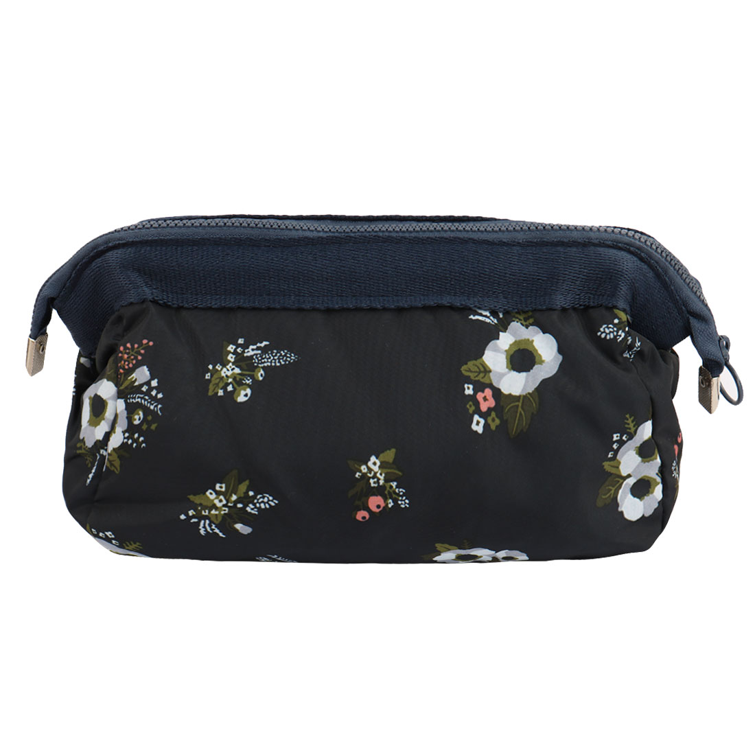 Travel Cosmetic Makeup Bag Wash Bag Pouch Toiletry Purse Beauty Case Navy Blue