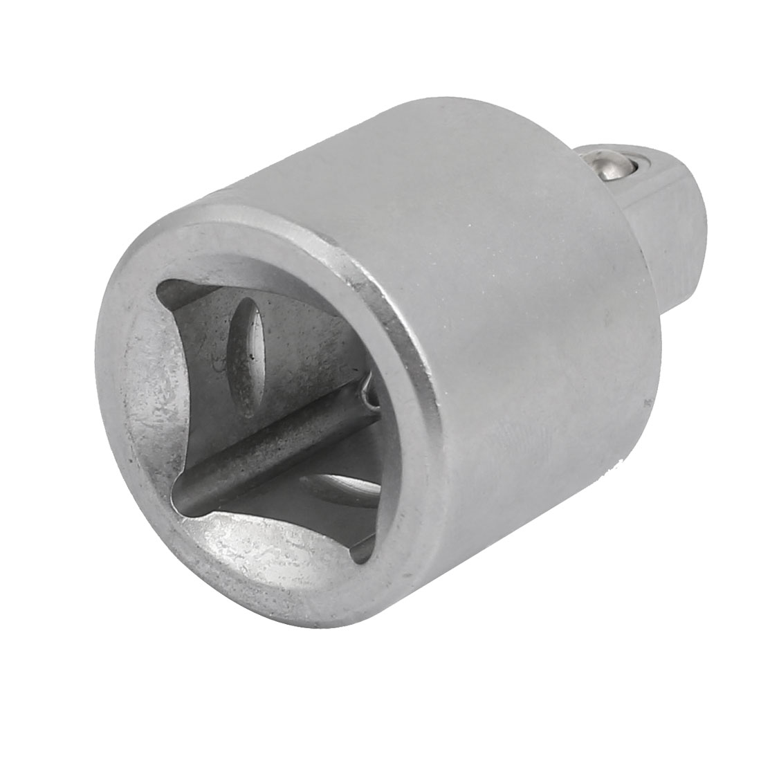 3/4'' Square Hole 1/2'' Square Head Silver Tone Extension Adapter Impact Socket