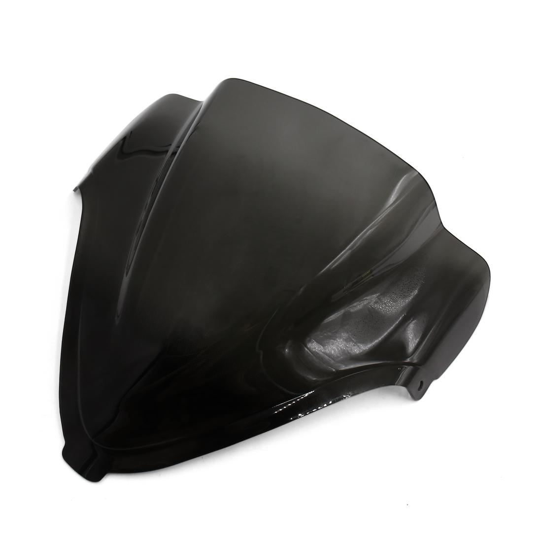 Black ABS Plastic Motorcycle Front Windshield Windscreen for Suzuki GSXR1300