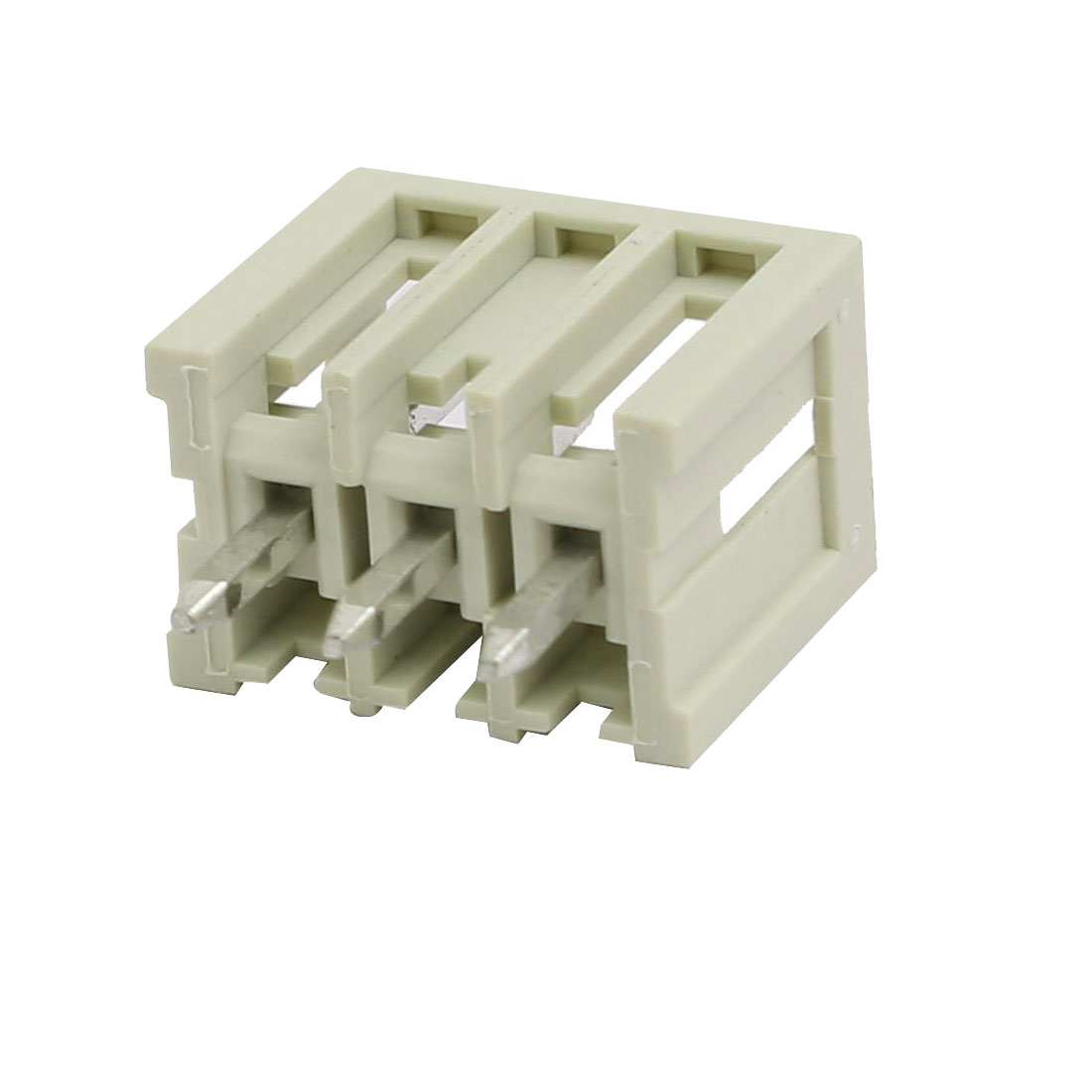3 Pole PCB 3.5mm Pitch Straight Pin Box Header MCS Connector