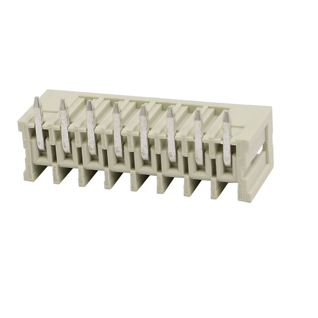 8 Pole PCB 3.5mm Pitch Right Angle Solder Pin Box Header MCS Connector