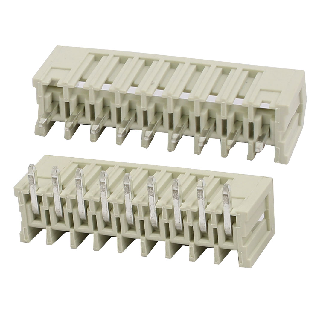 9 Pole PCB 3.5 Pitch 250V 10A Box Header MCS Connectors Pair