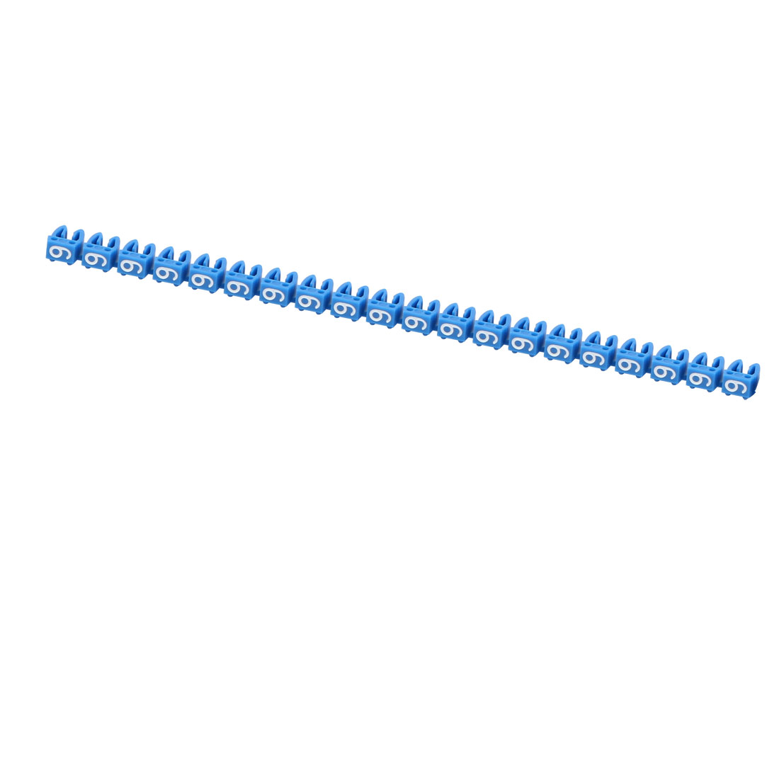 "20Pcs Letters ""9"" Network Cable Labels Markers Blue for 3.0-4.0mm Dia Wire"