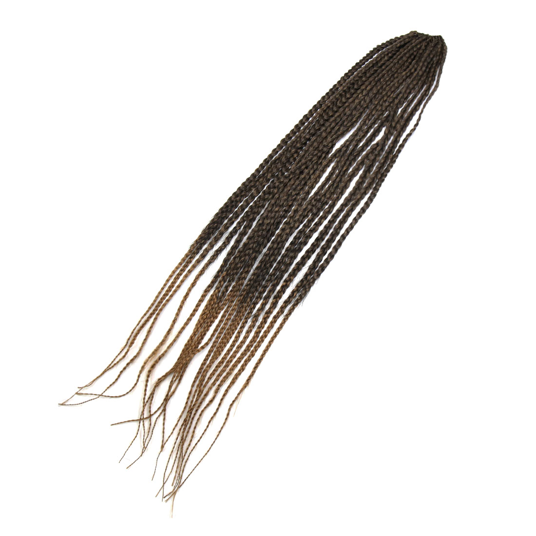 1 Pack 26 Inches Long Synthetic Hair Weft Senegal Africa Braid Extension 1BT27#