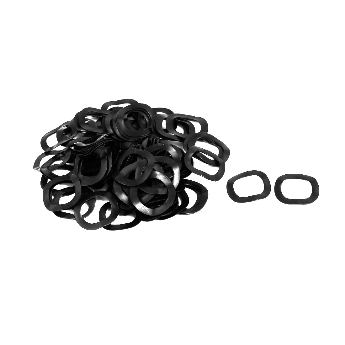 12mm Inner Dia 18mm Outer Dia 0.3mm Thick Compression Type Wave Washer 100pcs