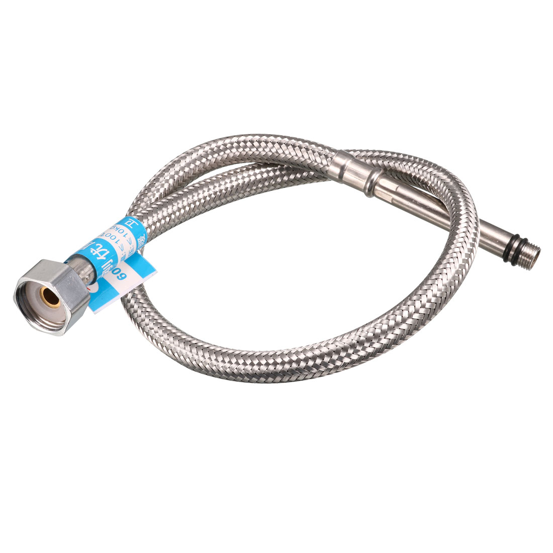 20mm Female to M10 Male Thread 60cm Long Faucet Connector Supply Hose