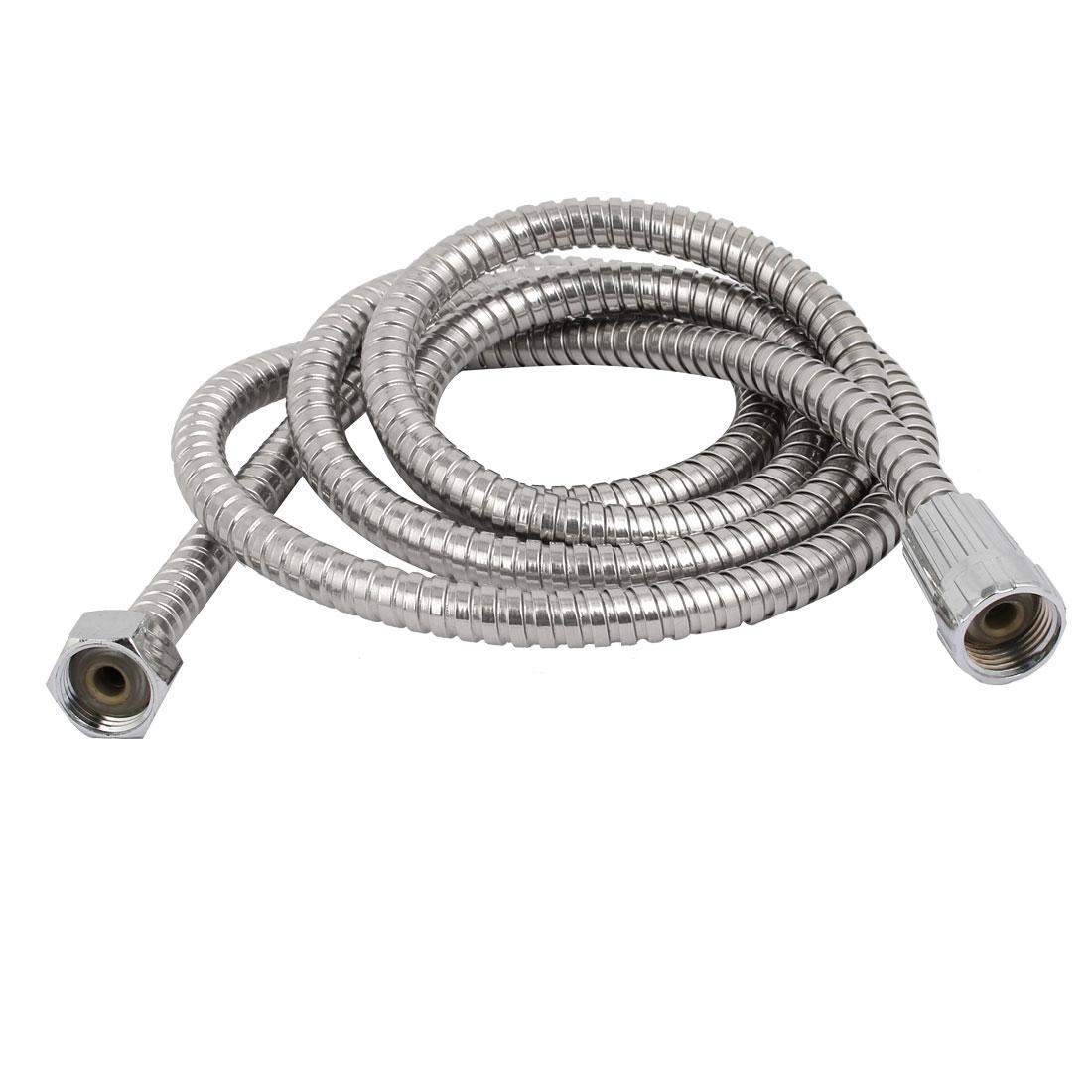 "20mm F1/2"" G1/2"" Thread 200cm Length Stainless Steel Handheld Shower Hose Pipe"