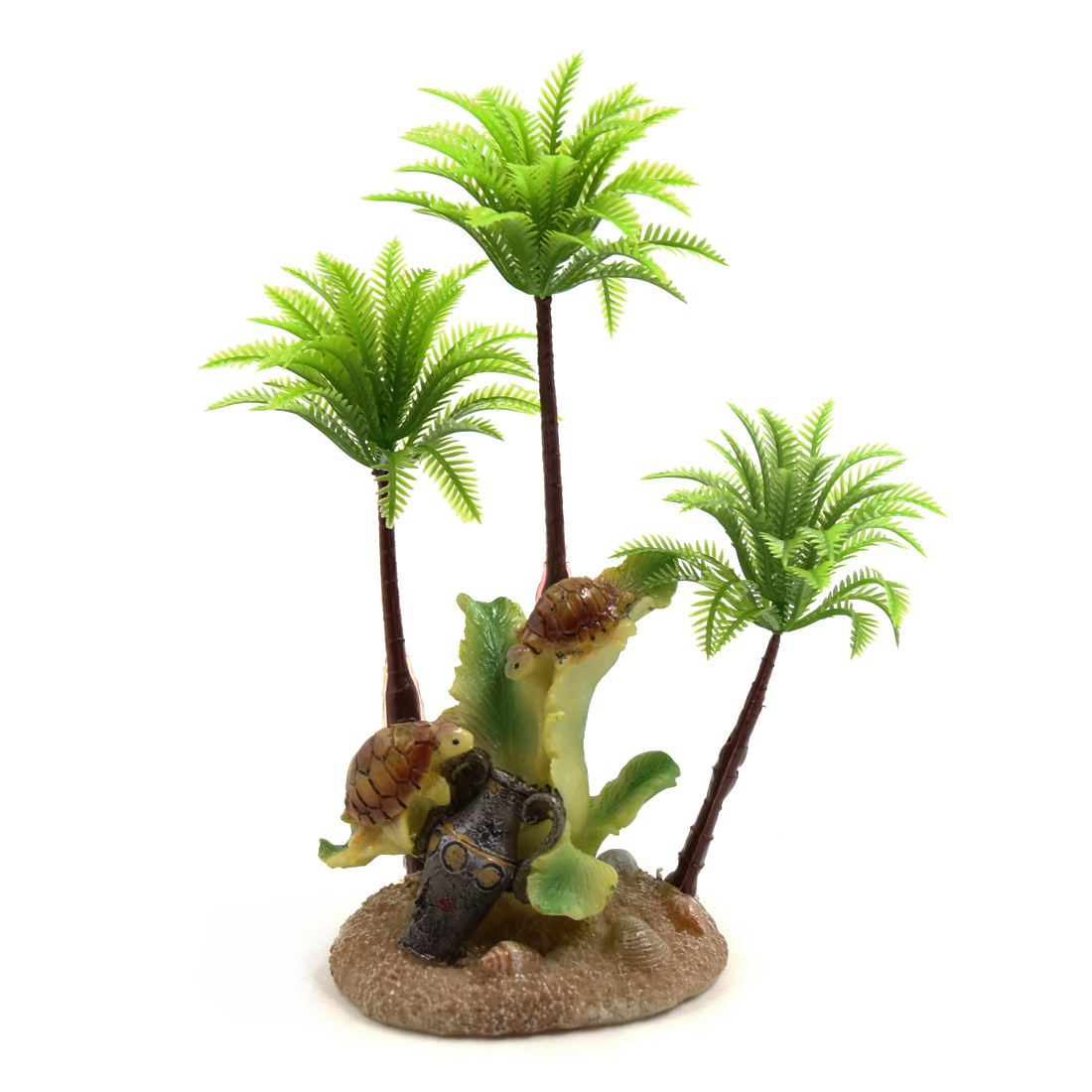 Plastic Decorative Tree Terrarium Plant Ornament for Reptiles Amphibians