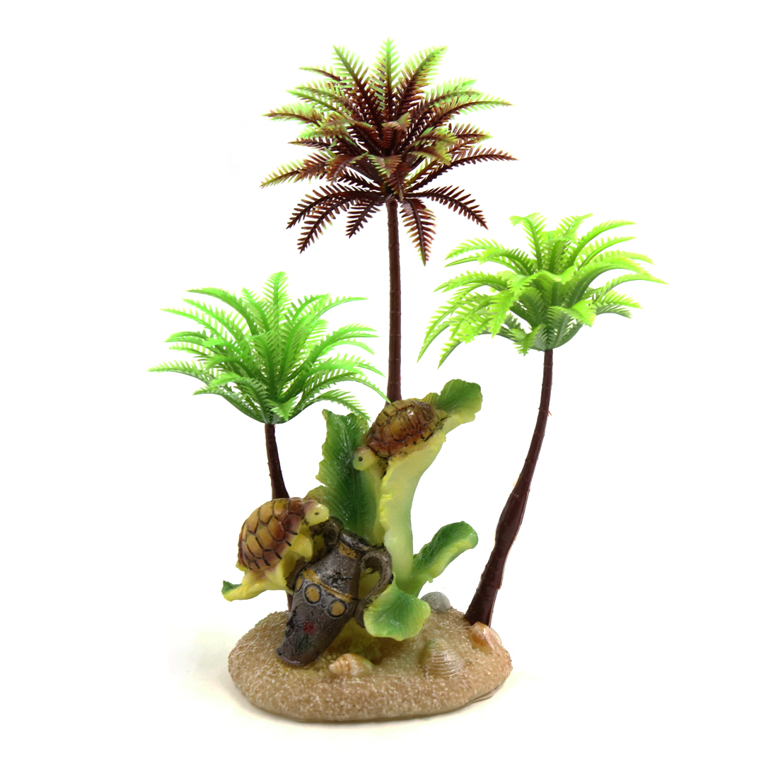 Reptiles Amphibians Plastic Decorative Tree Terrarium Plant Ornament