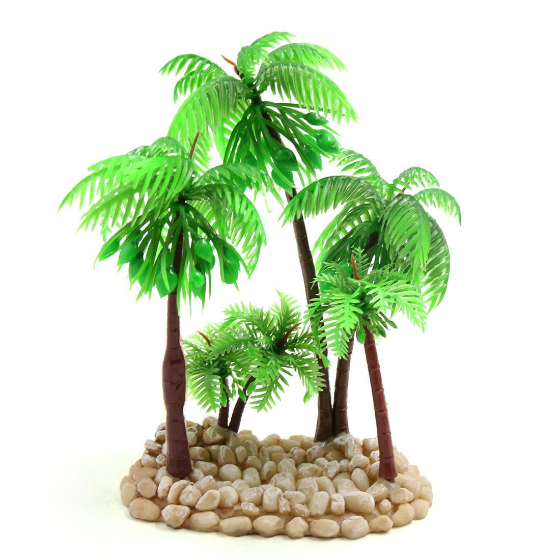 Terrarium Reptile Tank Decorative Plant Coconut Tree for Reptiles Amphibians