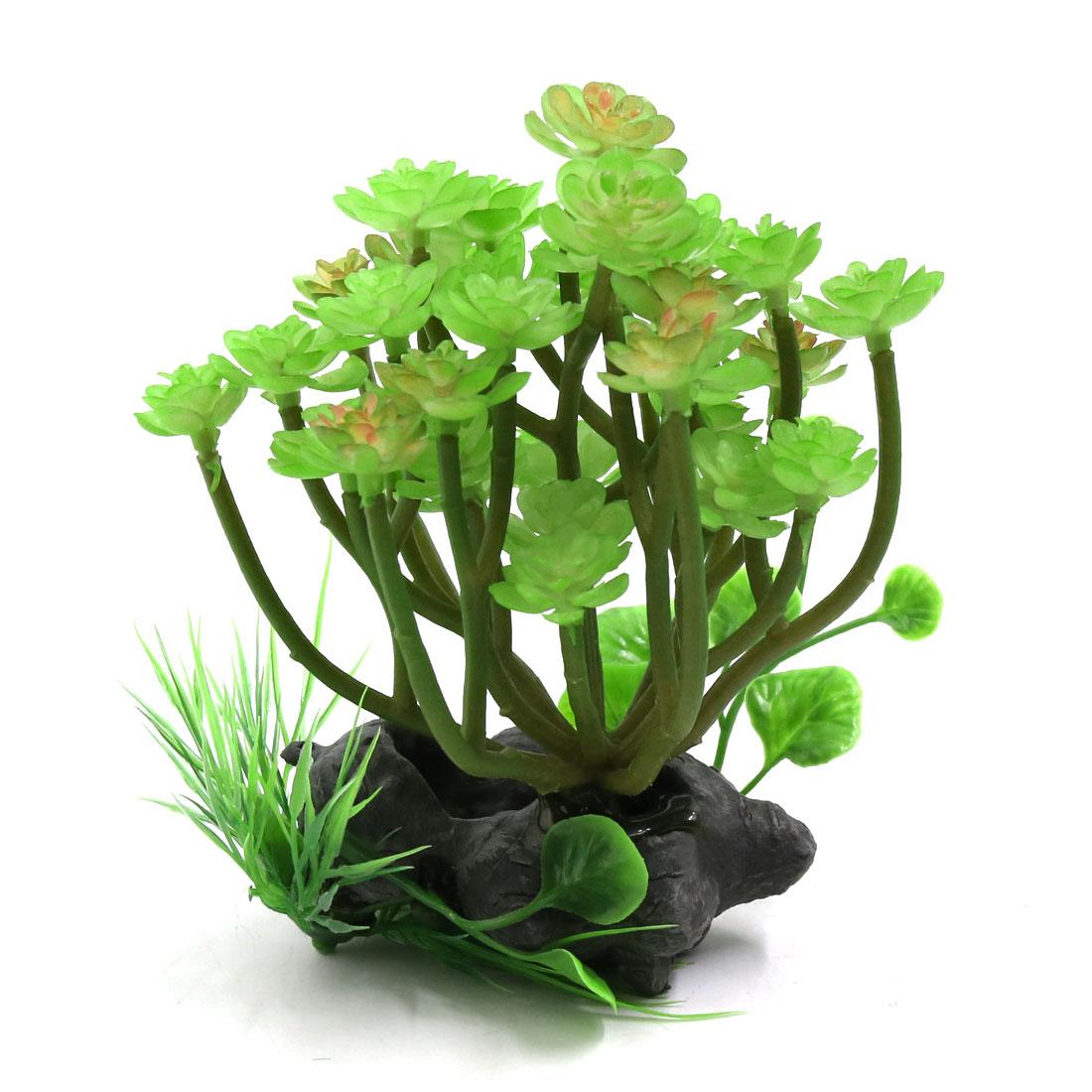 Plastic Lifelike Plant Terrarium Aquarium Reptiles Tank Decorative Ornament