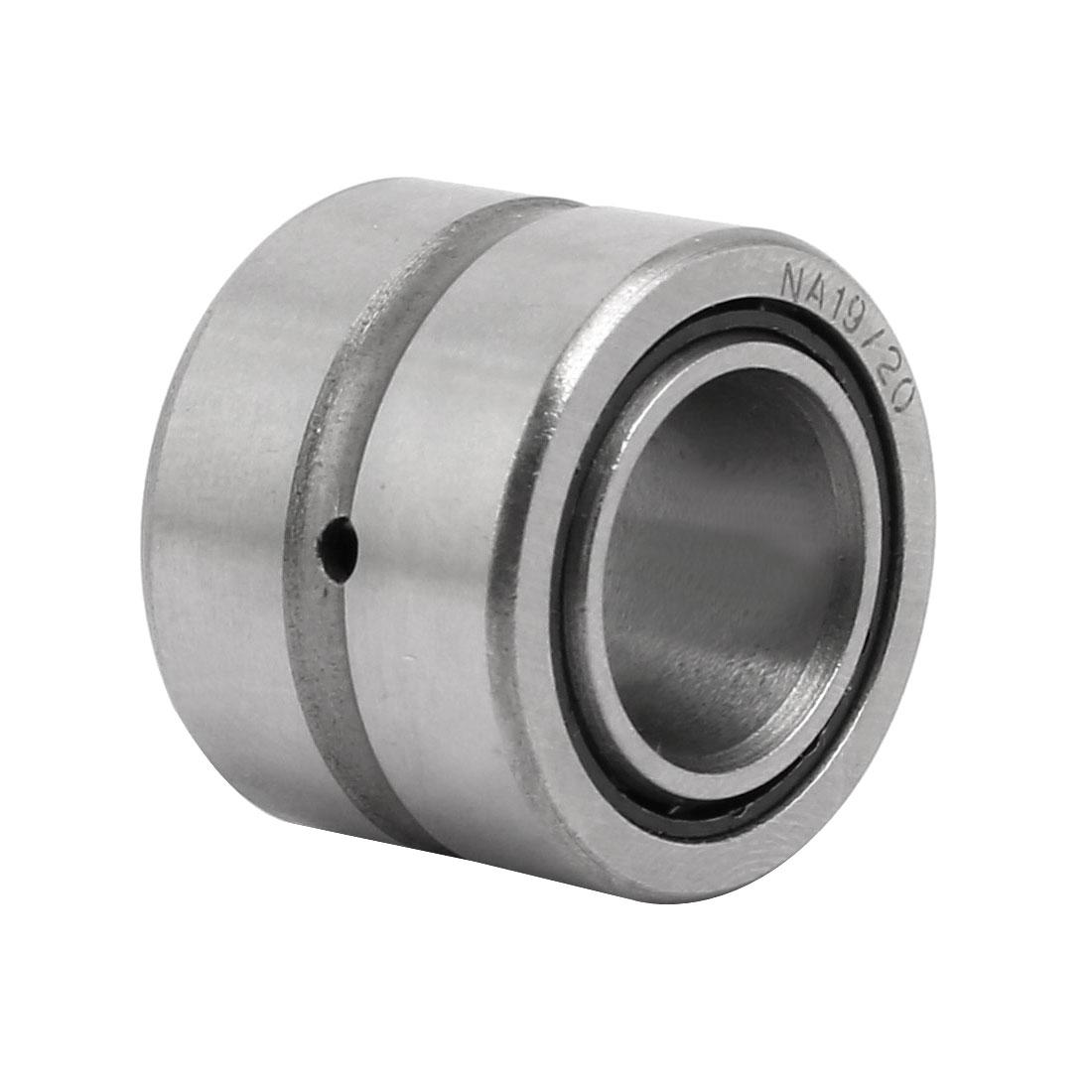 NKI15/20 15mmx27mmx20mm Inner Ring Needle Roller Bearing Silver Tone