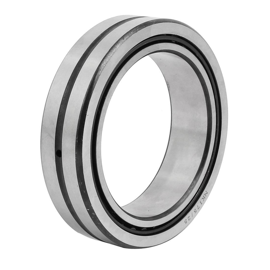 NKI75/25 75mmx105mmx25mm Inner Ring Needle Roller Bearing Silver Tone