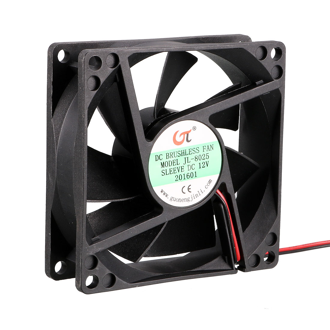 80mm x 80mm x 25mm 12V DC Cooling Fan Long Life Sleeve Bearing Computer Case Fan