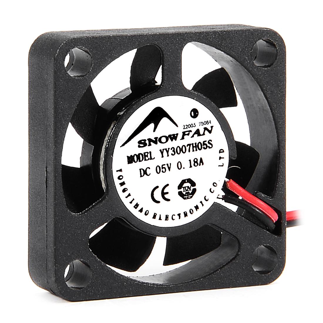 30mm x 30mm x 7mm 5V DC Cooling Fan Long Life Sleeve Bearing Computer Case Fan
