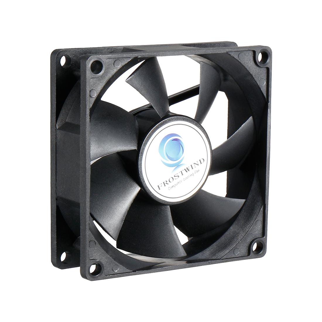 80mm Standard Case Fan Low Noise CPU Cooler Cooling Fan with 3-Pin Connector