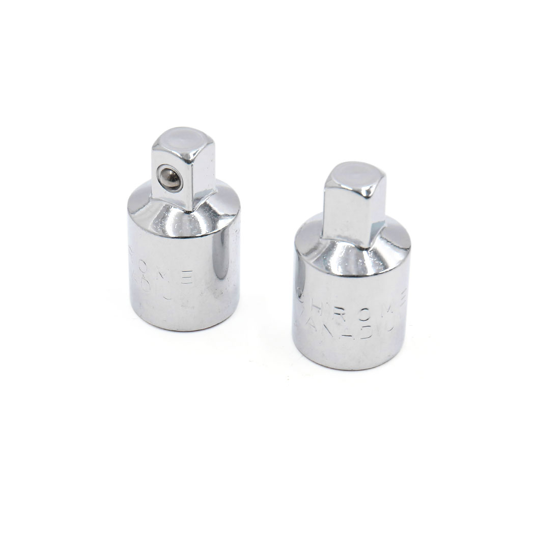 "2Pcs 3/8"" Square Head 1/2"" Socket Car Wrench Ratchet Converter Reducer Adapter"