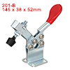 Horizontal Quick-Release Antislip Toggle Clamp 198 lbs Capacity 201-BHB